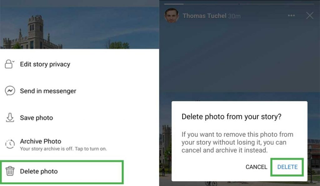 How to Delete Facebook Stories on phone
